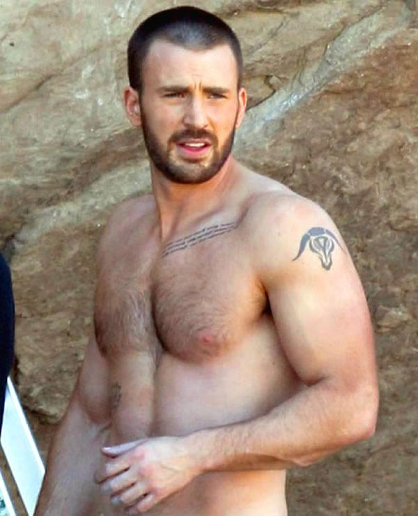 chris-evan-shirtless